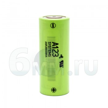 Аккумуляторный элемент питания 2300 mAh (LiFePo4) A123 system оригинал