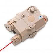 Анпек PEQ15 под аккумулятор TAN + Red Laser