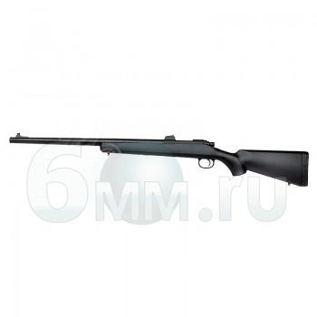 Страйкбольная винтовка (Cyma) CM701 VSR-10 открытый прицел Black (Spring)