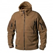 Куртка (Helikon-Tex) PATRIOT Jacket-Double Fleece (Coyote) L