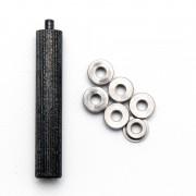 Втулки (SRC) металлические 6мм с ключем для запрессовки