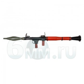 Страйкбольный гранатомет (SW) RPG-7 GAS Sportline с гранатой BB
