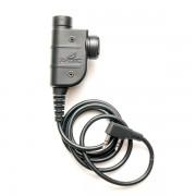 Кнопка PTT - SILYNX для рации (Kenwood-BaoFeng) Z125