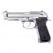 Страйкбольный пистолет (WE) M92S Silver