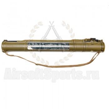 Страйкбольный гранатомет РПГ-18 «Муха» для выстрела ВРПГС 50 Стрела