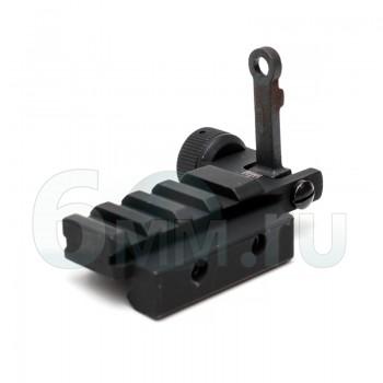 Мушка Целик (DBoys) M4 c планкой RIS (складной)