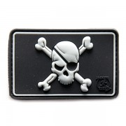 Нашивка 3D-Patch PIRATE SKULL