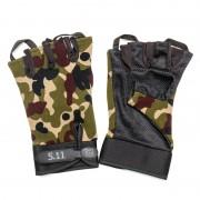 Перчатки 511 Tactical Gloves Woodland беспалые (M)