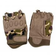 Перчатки Tactical Gloves Woodland беспалые (XL)