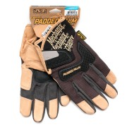 Перчатки (Mechanix) Padded Palm Glove Black/Brown (XL)