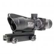 Прицел оптический ACOG 4x32 (Black) со светонакопителем