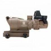 Прицел оптический ACOG ECOS (TAN) 4x32 Riflescope + коллиматор RMR