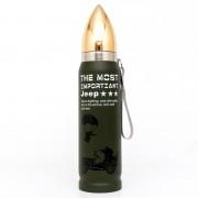 Фляга-бутылка (JEEP) 0,5л пуля