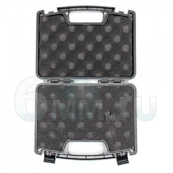 Кейс для пистолетов пластиковый (Black) 25х17см Малый