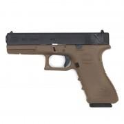 Страйкбольный пистолет (GK) GLOCK 18C TAN