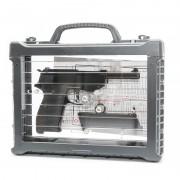 Модель пистолета (WE) Walther P38 металл (Black) в кейсе
