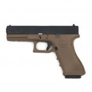 Страйкбольный пистолет (GK) GLOCK 17 Gen.4 TAN