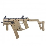 Страйкбольный пистолет-пулемет (KWA) Kriss Vector GBB TAN (2 магазина)
