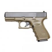 Страйкбольный пистолет (KJW) GLOCK 23 KP-03 металл Olive (GGB-9906SM-OD)