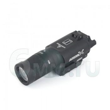 Фонарь SuperFire X300V + IR (400 lm) Black