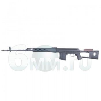 Страйкбольная винтовка (Cyma) СМ057A SV-Dragunov AEG Black