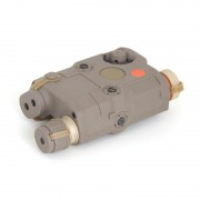 Анпек PEQ15 Red Laser/Flashlight (TAN)