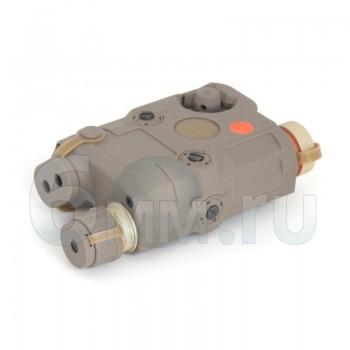Анпек PEQ15 Red Laser/Flashlight (TAN)