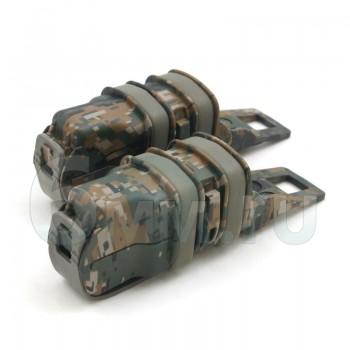 Подсумок для магазина на пистолет FastMag Molle (D.Woodland) 2шт