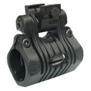 Крепление для фонаря TG поворотное (Black) 25мм