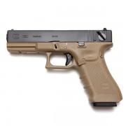 Страйкбольный пистолет (WE) GLOCK 18C Gen.4 Semi/Auto TAN (GGB-0356TMB-T)