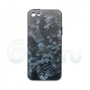 Чехол для IPhone 5/5S/SE (Kryptek-Black TYPHON) силикон