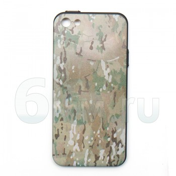 Чехол для IPhone 5/5S/SE (Multicam) силикон