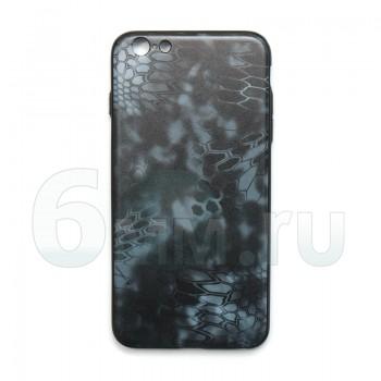 Чехол для IPhone 6 Plus/6S Plus (Kryptek-Black TYPHON) силикон