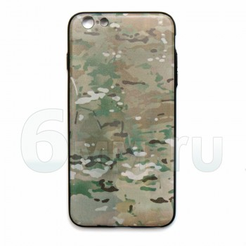 Чехол для IPhone 6 Plus/6S Plus (Multicam) силикон