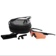 Очки ESS Crossbow Suppressor Black 2шт (прозрачные/бронзовые) 740-0475