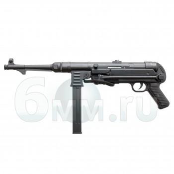 Страйкбольный автомат (AGM) MP40 AEG Black (MP007)