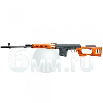 Страйкбольная винтовка (A&K) SV-Dragunov Spring пластик под дерево