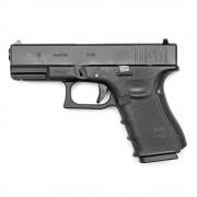 Страйкбольный пистолет (WE) GLOCK 19 Type-B Black 2 накладки (GGB-0359TMB-B)