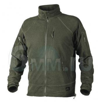 Куртка (Helikon-Tex) Alpha Tactical Jacket-Grid Fleece (Olive-Green) L