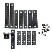 Планки-комплект (Cyma) RUX rail plate HY-208 black