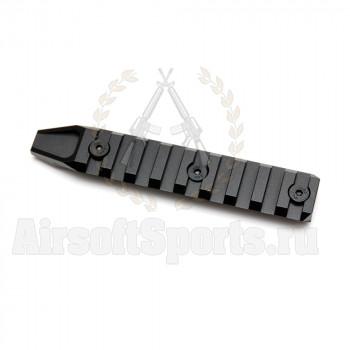 Планка на цевье URX4 115 мм (Keymod) Black