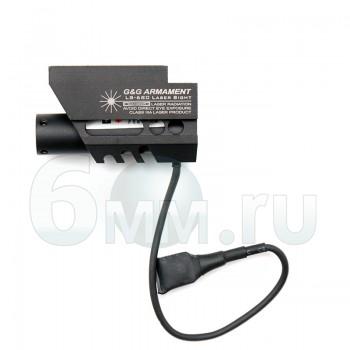 Лазер для пистолета RIS (G&G) LS-680 c кнопкой Red Laser (G-07-042)