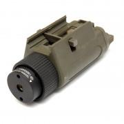 Лазерный целеуказатель (King Arms) M3 VLM Red Laser (Olive) быстросъемн. KA-LS-05-OD