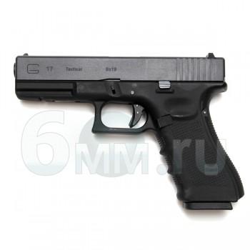 Страйкбольный пистолет (WE) GLOCK 17 Gen.4 Black (GGB-0354TMB-B)