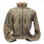 Куртка (Mil-Tec) SoftShell Jacket Coyote L