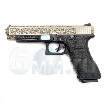 Страйкбольный пистолет (WE) GLOCK 34 gen3 бронза (G008BOX-BR)