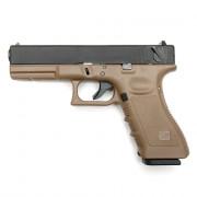 Страйкбольный пистолет (STARK ARMS) Glock 18C TAN