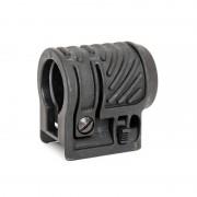 Крепление кольцо 25мм для фонаря/ЛЦУ (Cyma) Black C66