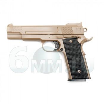 Страйкбольный пистолет (Galaxy)  G-20 TAN Spring