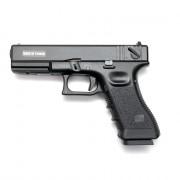 Страйкбольный пистолет (KJW) GLOCK 18 GBB металл Black (GGB-0509SM)
